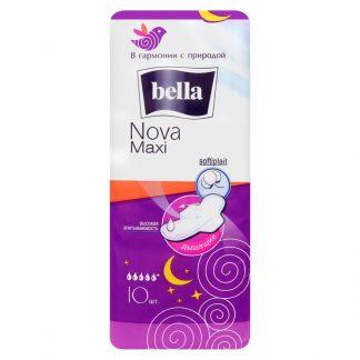 Прокладки BELLA 10шт ***** Nova Maxi Softiplait