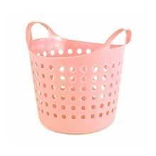Корзина пластиковая Soft 10л, нежно-розовый