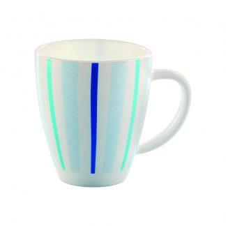 Чашка 400мл с рисунком Blue Strips