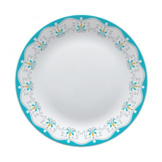 Тарелка плоская D19см с рисунком Plano-Royal Jade