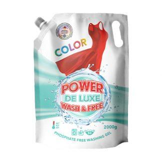 Гель для стирки Power De Luxe 2л Doupack, Color