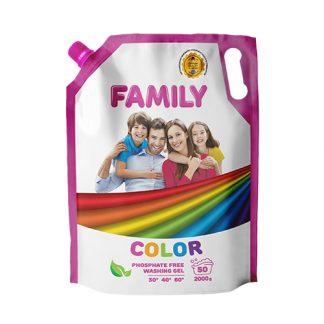 Гель для стирки Family 2л Doupack, Color