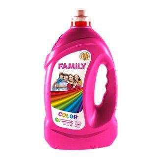 Гель для стирки Family 4л Color