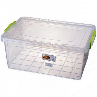 Контейнер пищевой пластиковый квадратный 17L №8 45*31,2*19 L-108