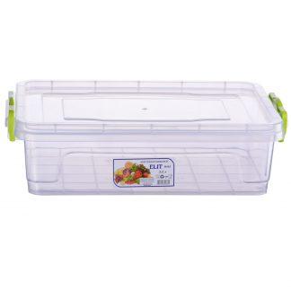 Контейнер пищевой пластиковый квадратный 3,0L 30,9*20,6*8,6 E-103