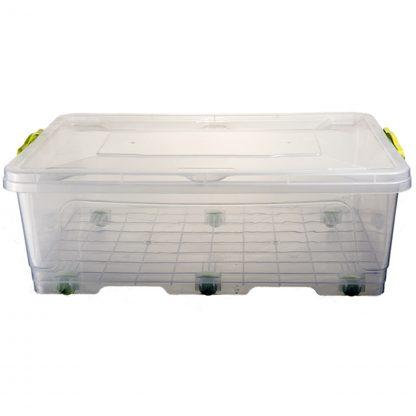 Контейнер пищевой пластиковый на колесах 30L 61,5*39*19 B-101