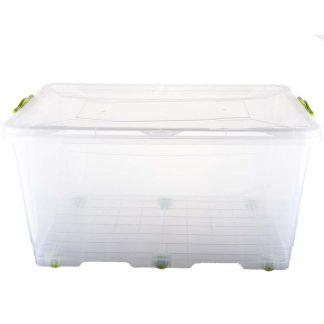 Контейнер пищевой пластиковый на колесах 50L