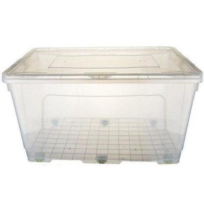 Контейнер пищевой пластиковый на колесах 80L 71*45*38,2 B-103