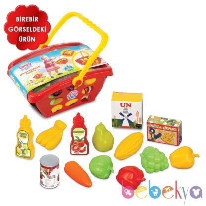 Корзинка с овощами 14 предметов Dede Candy&ken