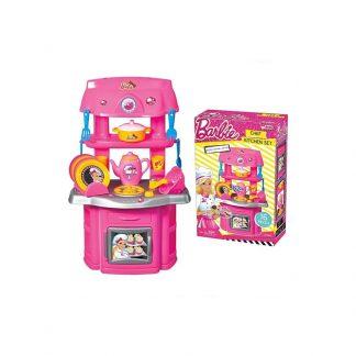 Кухня детская 16 предметов Dede Barbie