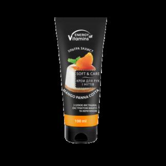 Крем для рук и ногтей Energy of Vitamins 100 мл Mango panna cotta