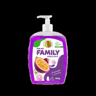 Жидкое мыло Family 560 мл Маракуйя и камелия