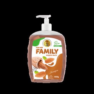Жидкое мыло Family 1000 мл Миндаль