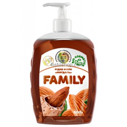 Жидкое мыло Family 500 мл Миндаль