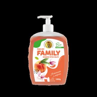 Жидкое крем-мыло Family 1000 мл Магнолия и персик