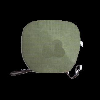 Подушка для стула из мешкoвины 40*40