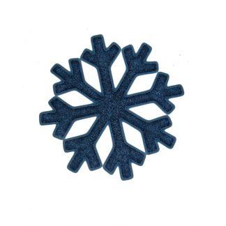 Наклейка новогодняя силик.снежинки D13,5см