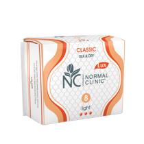 Прокладки Normal Clinic Classic 8шт **** Silk & Dry