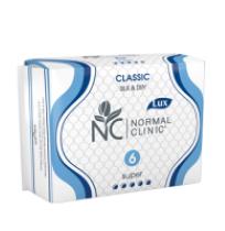 Прокладки Normal Clinic Classic 6шт ***** Silk & Dry