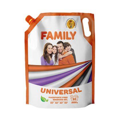 Гель для стирки Family 2л Doupack, Universal