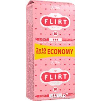 Прокладки FLIRT Ultra 20шт *** Cotton & Care